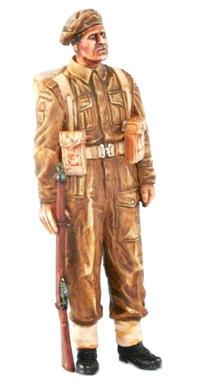 Britský voják z II.sv.války s puškou Enfield