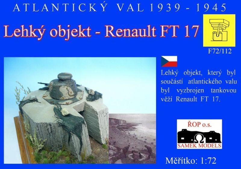 Lehký objekt - Renault FT17