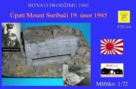 Úpatí Mount Suribači 19. únor 1945