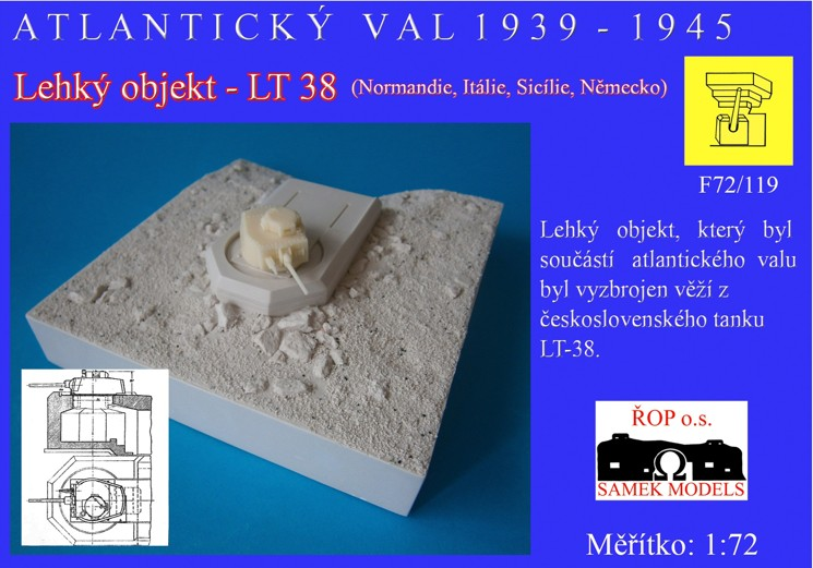 Lehký objekt - LT38