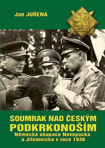 Soumrak nad českým Podkrkonoším
