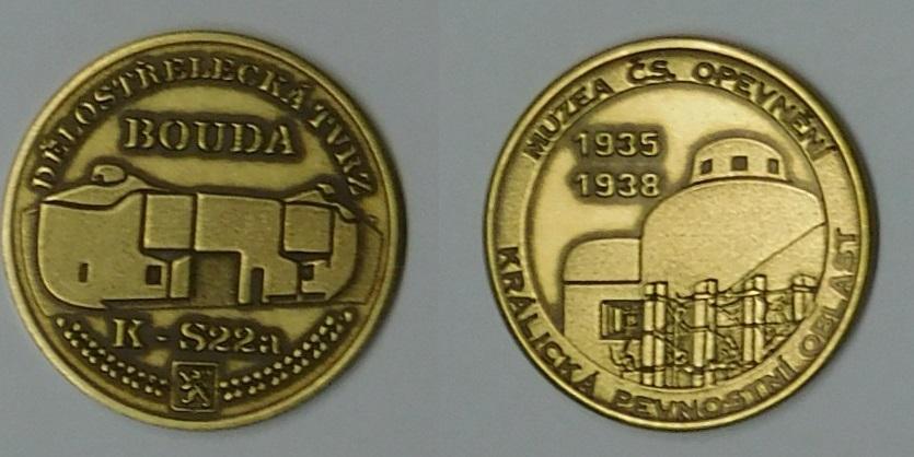 Medaile Bouda