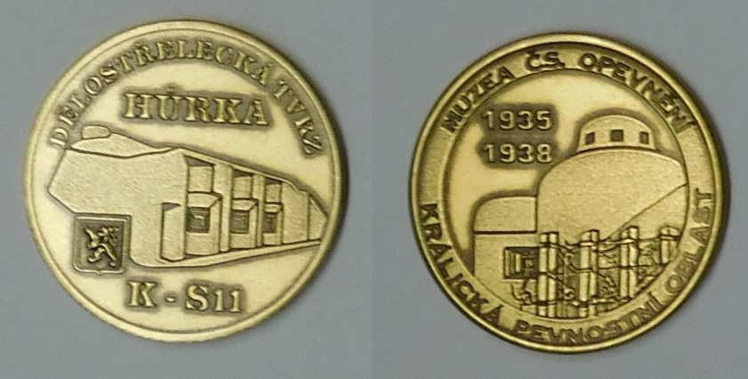 Medaile Hůrka