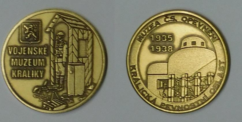 Medaile Vojenské muzeum Králíky