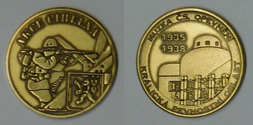 Medaile Akce Cihelna