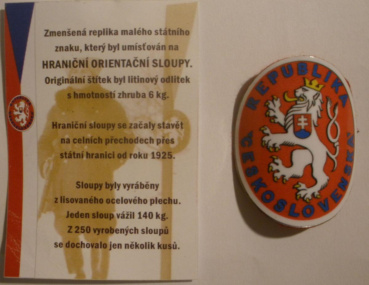 Magnetka - malý státní znak