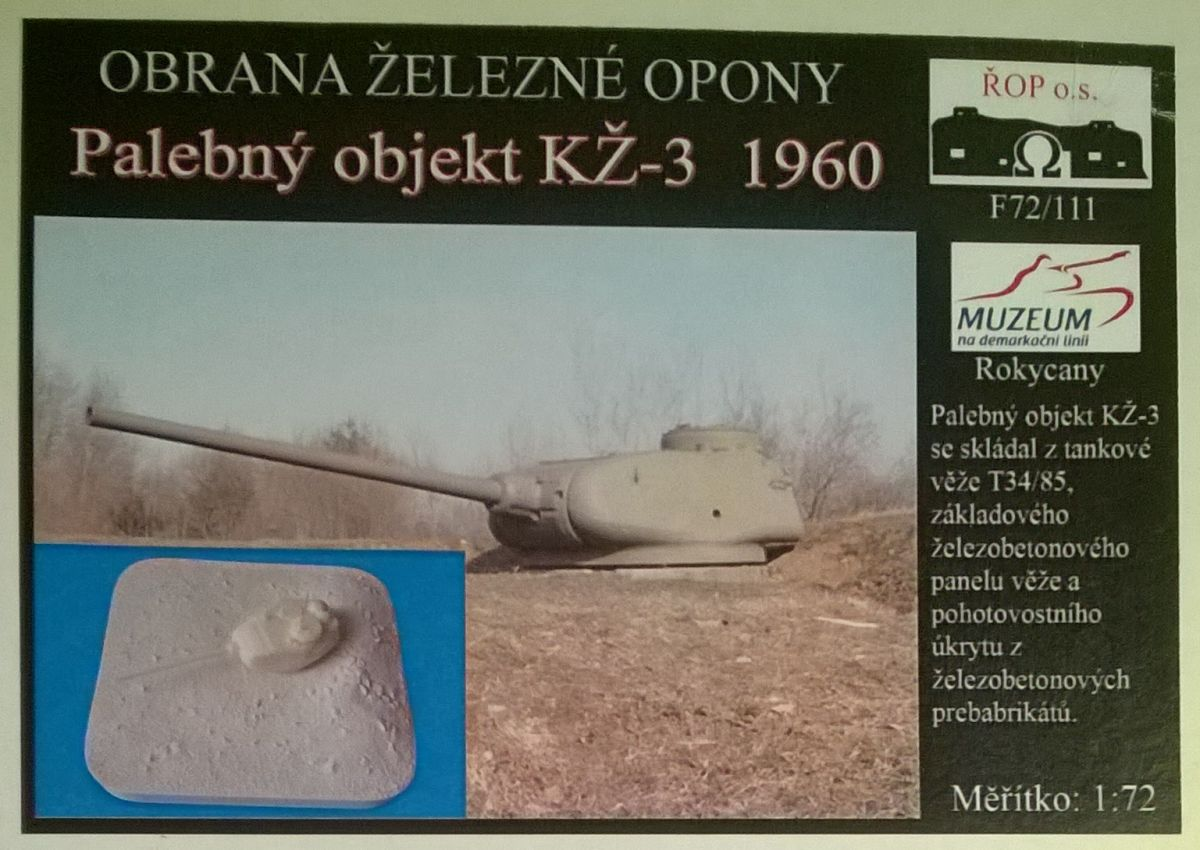 Palebný objekt KŽ-3 1960