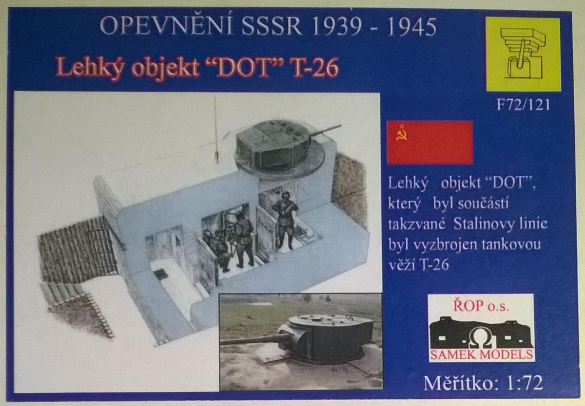 Lehký objekt DOT - s věží T-26