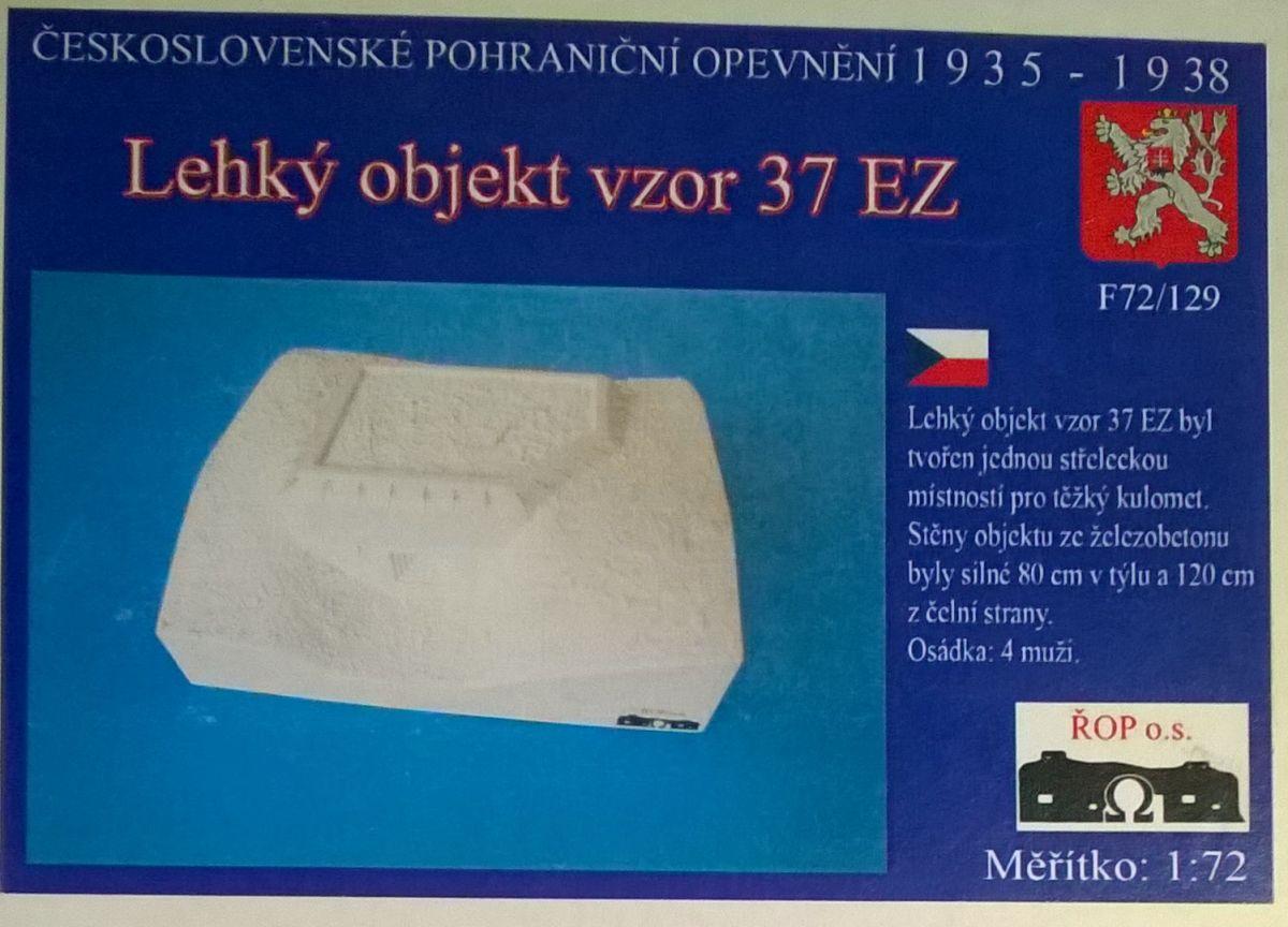 Lehký objekt vzor 37 EZ