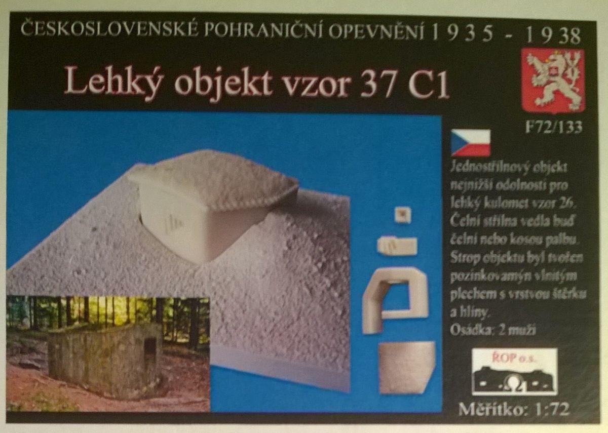 Lehký objekt vzor 37 C1