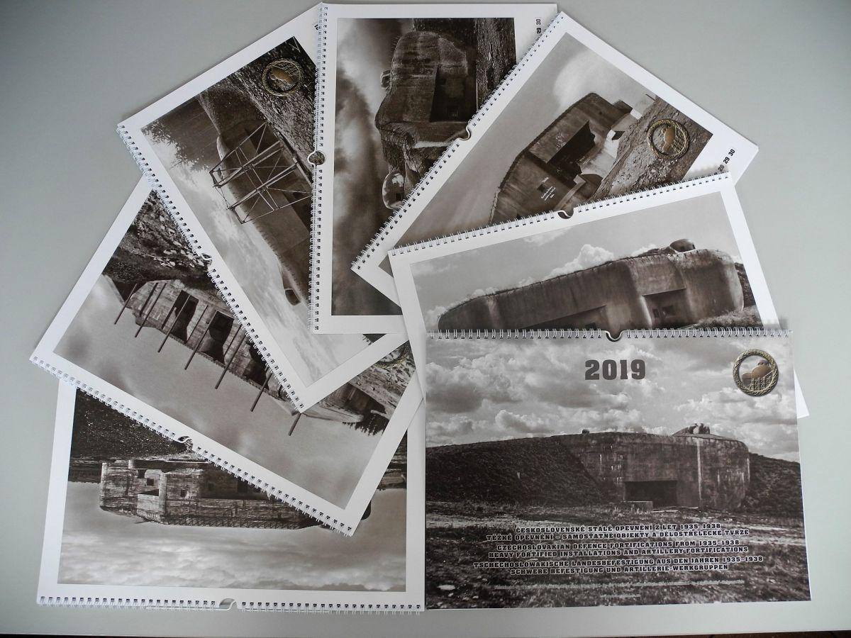 Kalendář čs. opevnění na rok 2019