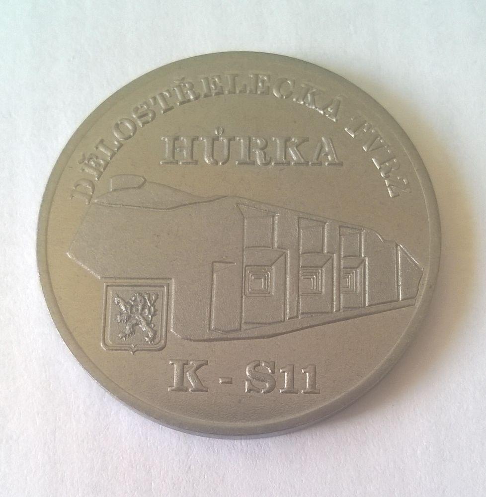 Medaile Hůrka - ocel