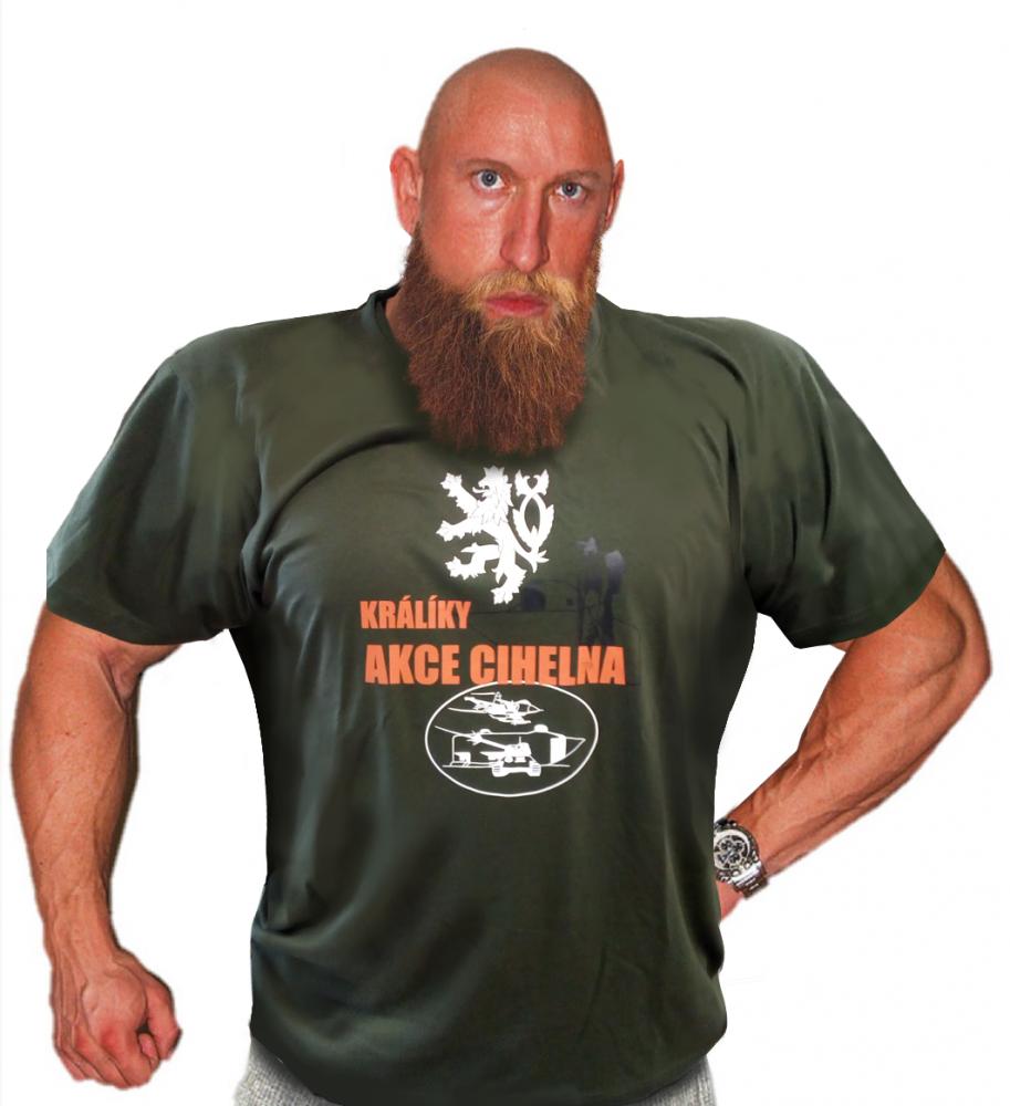 Tričko - Akce Cihelna - M