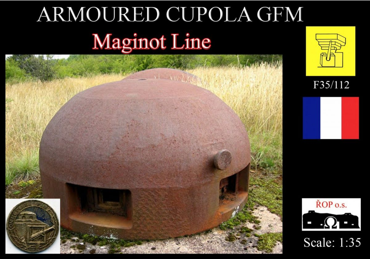 Armoured cupola GFM - Maginot Line