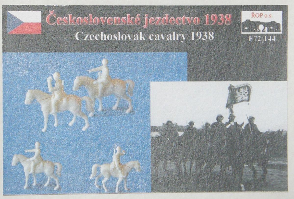 Československé jezdectvo 1938