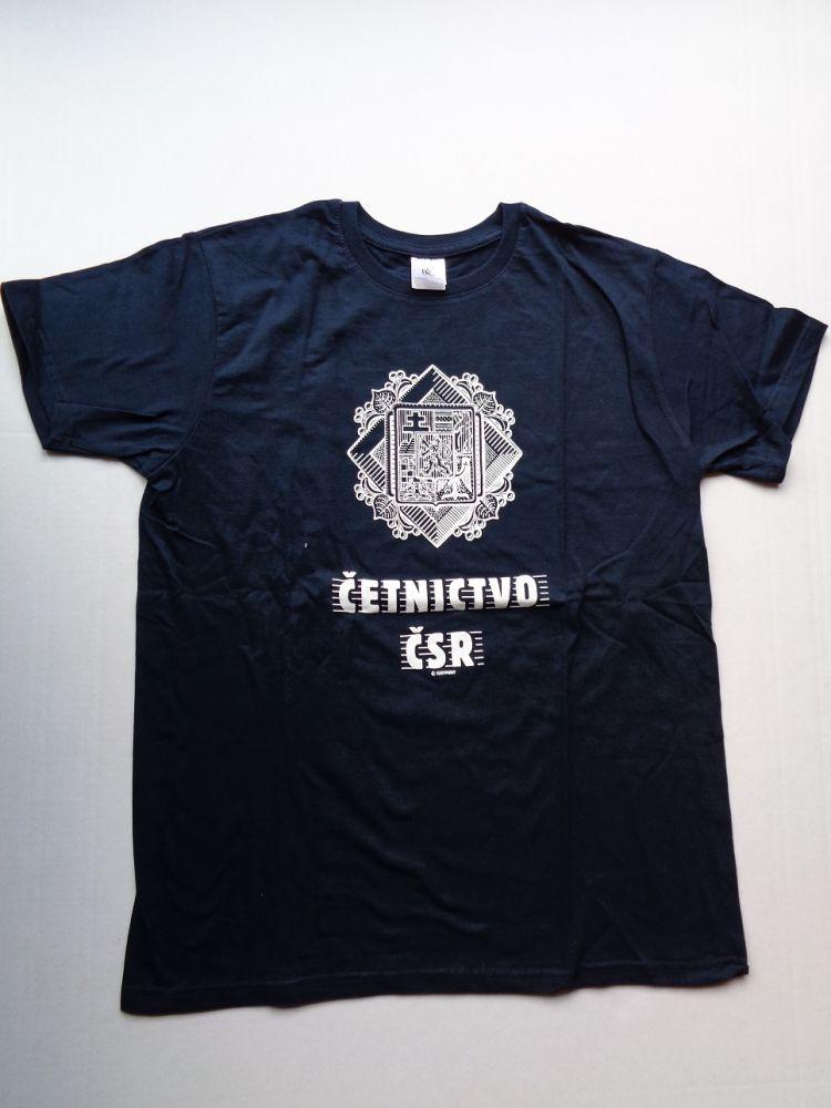 Tričko Četnictvo tmavě modré - velikost L