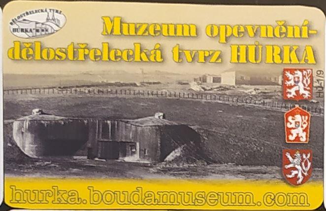Muzeum opevnění dělostřelecká tvrze Hůrka